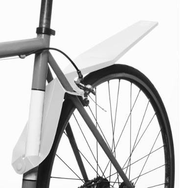 Full Windsor Quickfix Mudguard - White