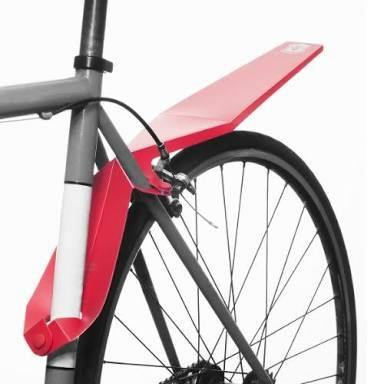 Full Windsor Quickfix Mudguard - Red