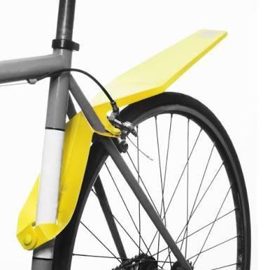 Full Windsor Quickfix Mudguard - Yellow - SpinWarriors