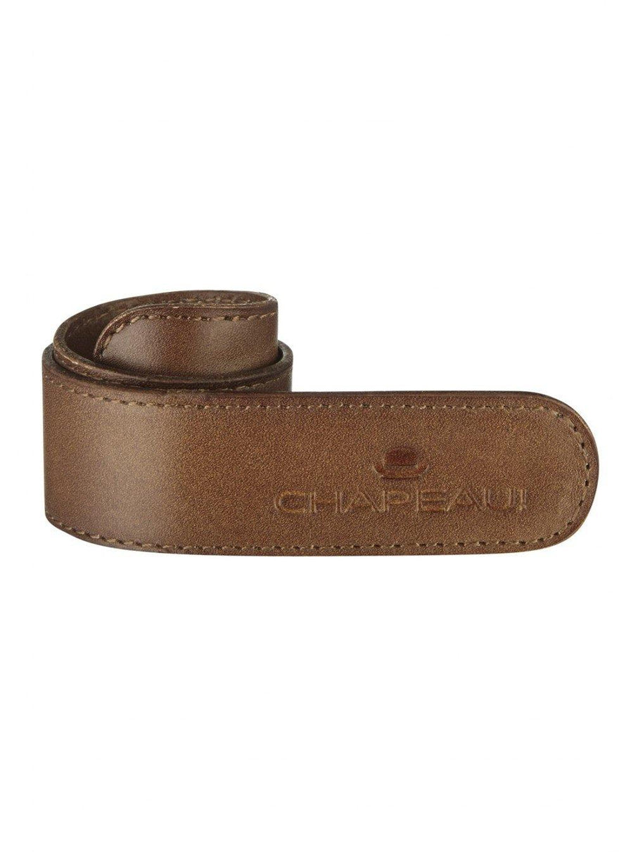 Chapeau! Leather Trouser Strap - Brown - SpinWarriors