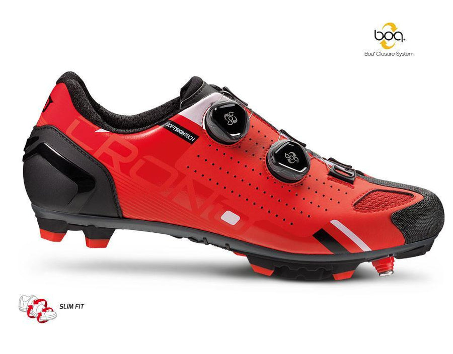Crono CX2 MTB Shoes - Red - SpinWarriors