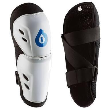 SixSixOne Comp Elbow Guard - White