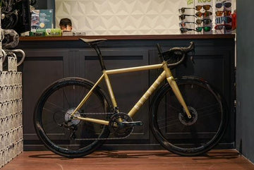 REPETE R2: Reason Road Disc Bike - Lime Gold