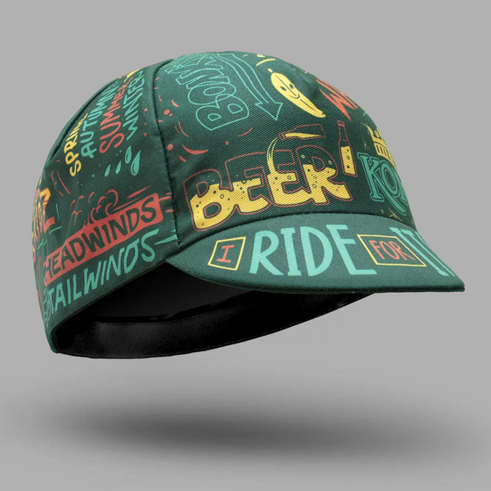 Bello Cotton Cycling Cap - I Ride For It All
