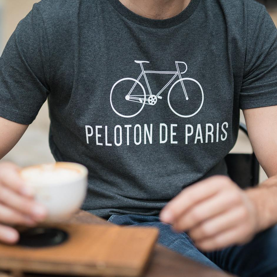 Peloton de Paris The Classic Grey T-Shirt