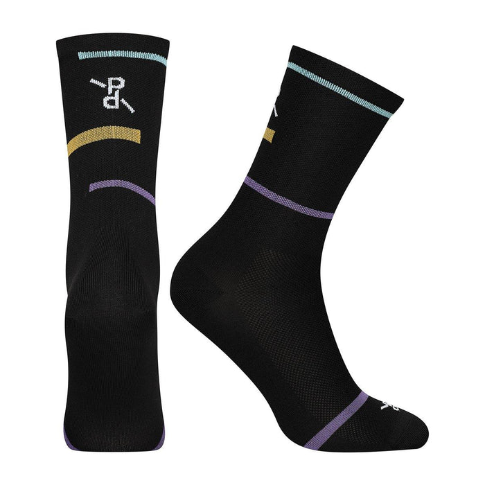 Peloton de Paris Laser PLTN Socks - Black