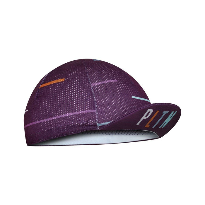 Peloton de Paris Laser Deep Purple Cycling Cap