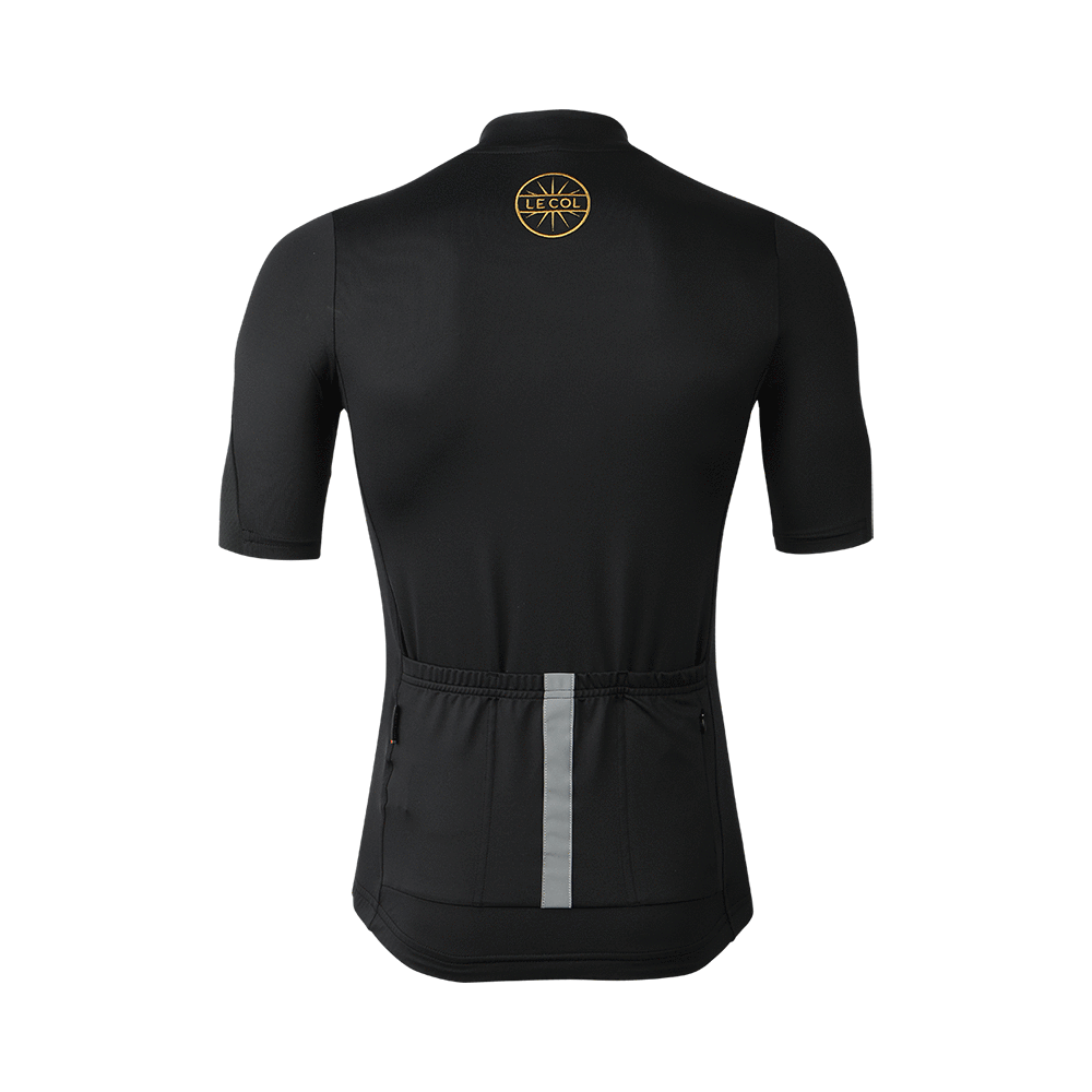 Le Col Hors Categorie Jersey - Black/Gold