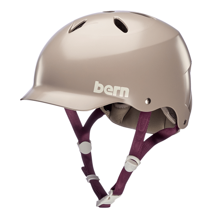 Bern Lenox Helmet - Satin Purple Haze