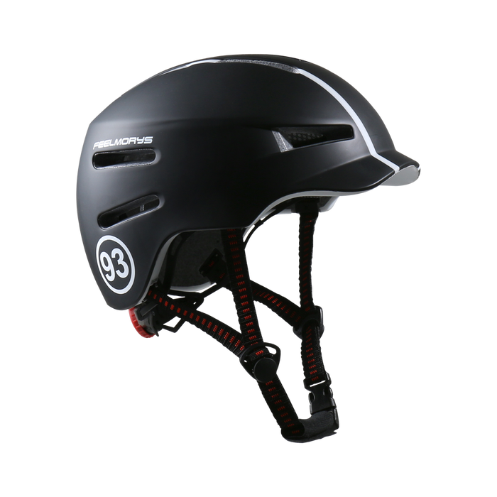Feel Morys City Helmet - Matt Black