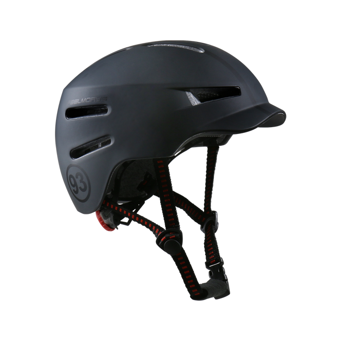 Feel Morys Helmet - Matt Dark Black