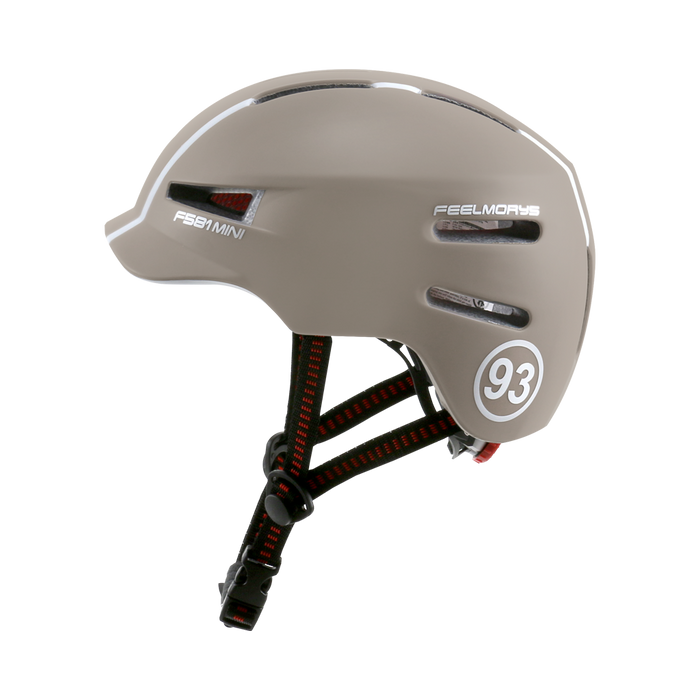 Feel Morys Helmet - Matt Dark Rose
