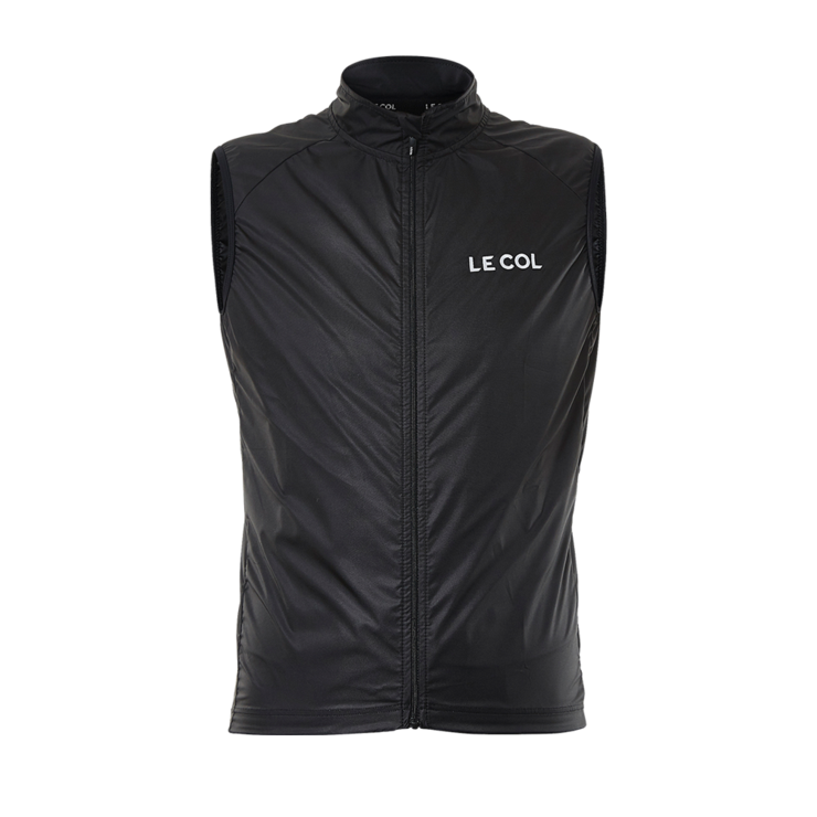 Le Col Sport Soft Shell Gilet - Black