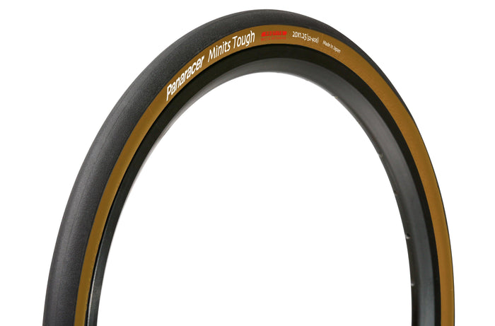 Panaracer Minits Tough (20x7/8 / 23-451) - Black/Brown