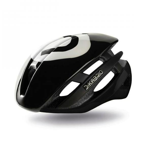 Dotout Kabrio HT Helmet - Shiny Black/Shiny Black