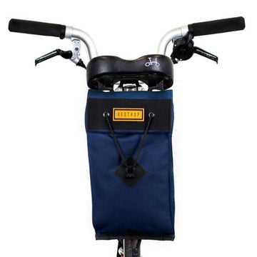 Restrap City Saddle Bag Large - Navy - SpinWarriors
