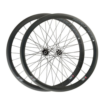 Profile Design 38/TwentyFour Carbon Clincher Disc Brake Wheelset - Center Lock - SpinWarriors