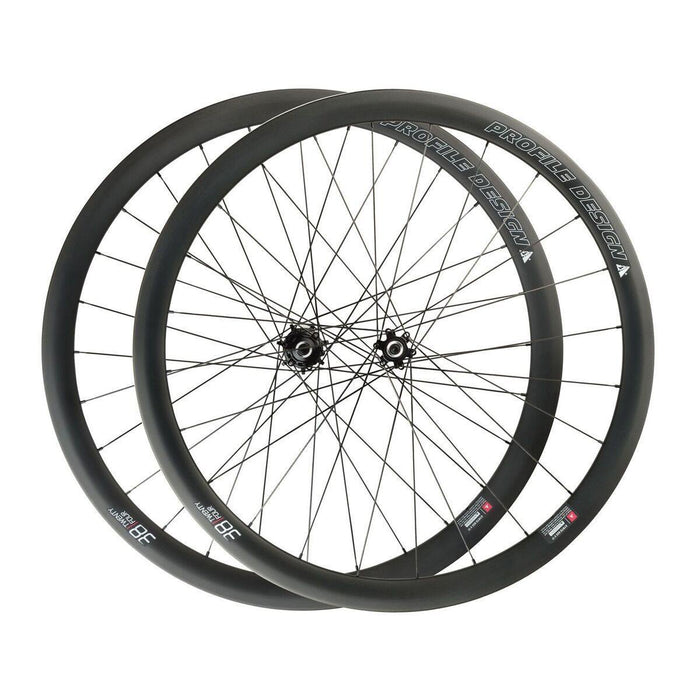 Profile Design 38/TwentyFour Carbon Clincher Disc Brake Wheelset - Center Lock