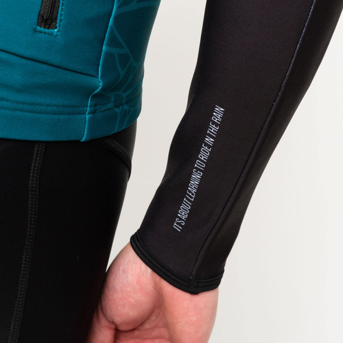 Peloton de Paris Storm Black Arm Warmers