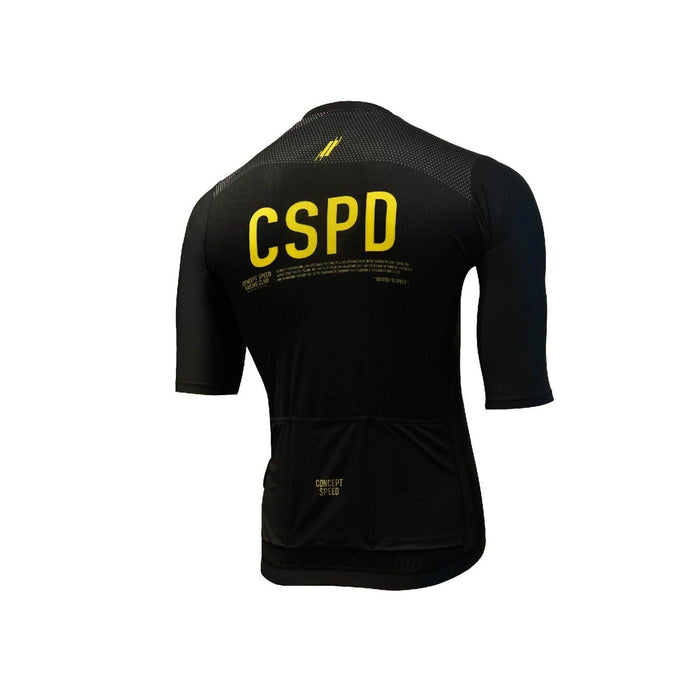 Concept Speed (CSPD) Grand Tour Jersey - Black/Yellow