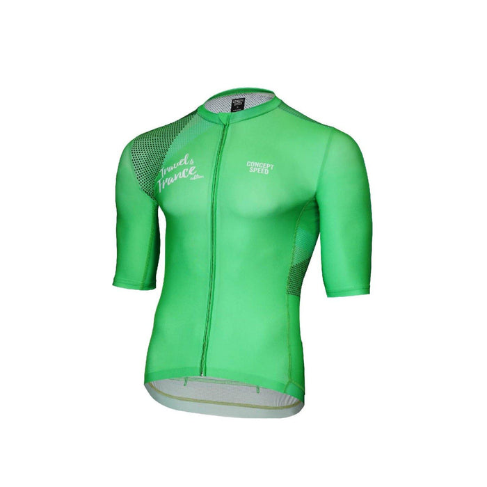 Concept Speed (CSPD) Grand Tour Jersey - Green TDF