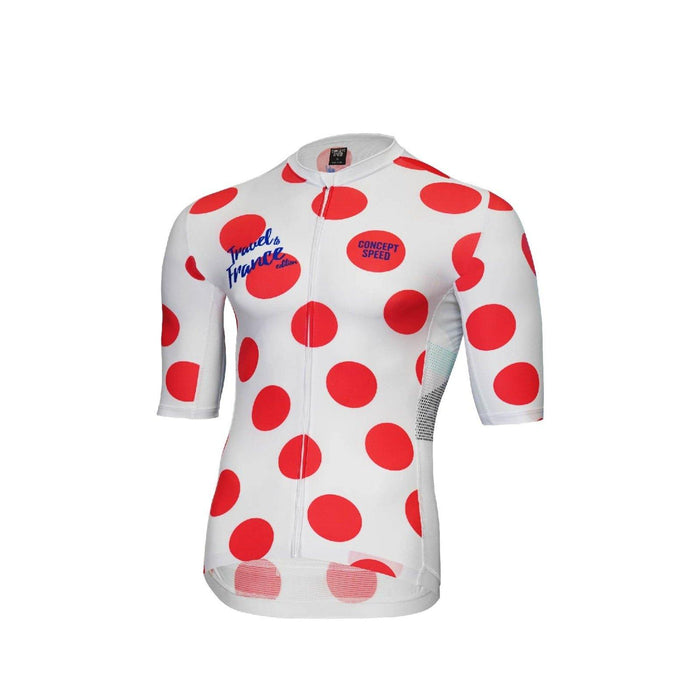 Concept Speed (CSPD) Grand Tour Jersey - Polkadot TDF