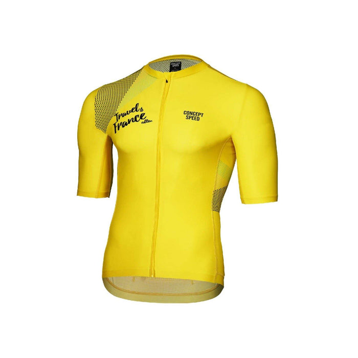Concept Speed (CSPD) Grand Tour Jersey - Yellow TDF