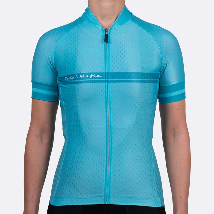Pedal Mafia Woman Core Jersey - Teal
