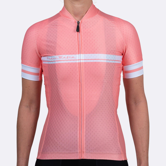 Pedal Mafia Woman Core Jersey - Peach