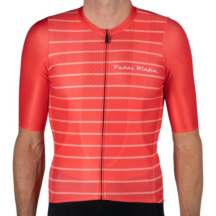 Pedal Mafia Artist Series Jersey - Red vs Blush