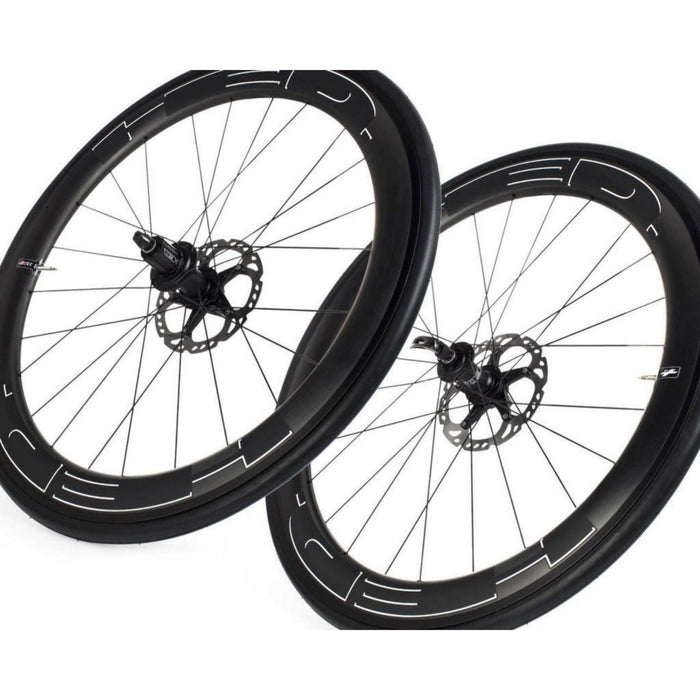 HED Jet 6 Plus Clincher Disc Brake Road Wheelset