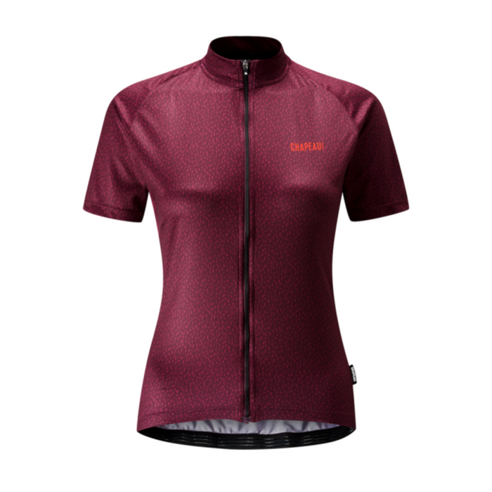 Chapeau! Soulor Pattern Woman Jersey - Dark Plum