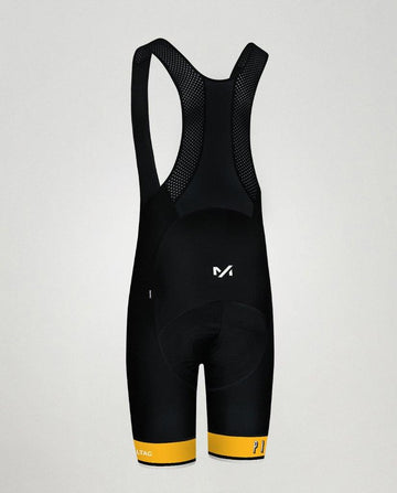 Milltag Pixies Pro Bib Short - Black/Yellow - SpinWarriors