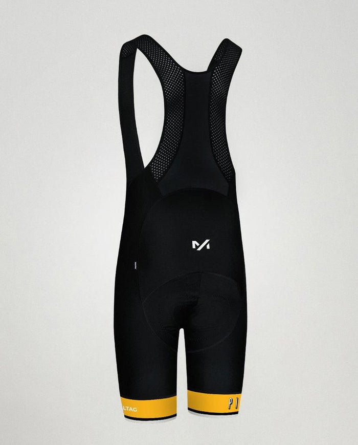 Milltag Pixies Pro Bib Short - Black/Yellow