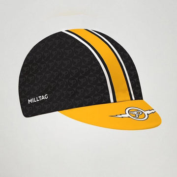Milltag Pixies Caps - Black/Yellow - SpinWarriors