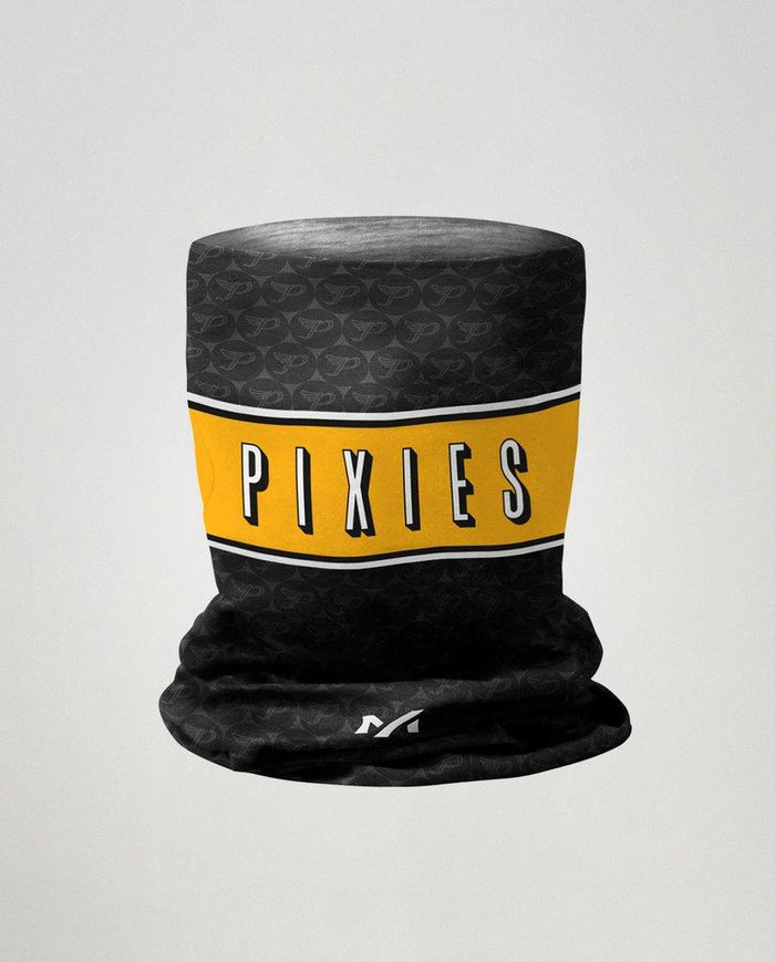 Milltag Pixies Snood - Black/Yellow