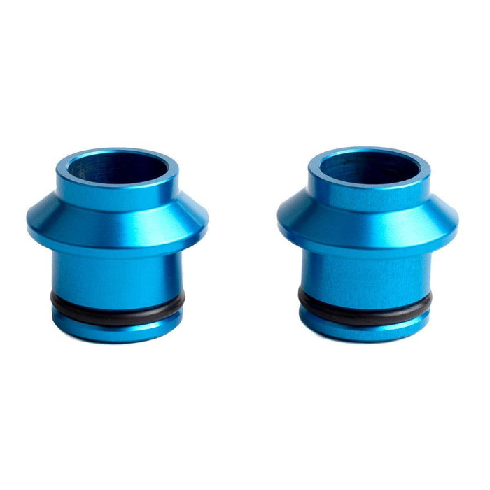 SeaSucker HUSKE 15x100mm Thru-Axle Plugs - Blue