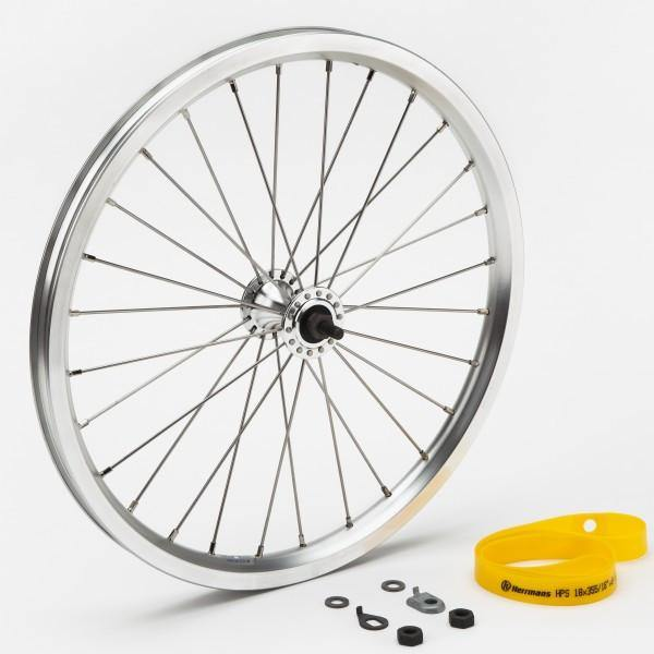 Brompton Standard Front Wheel - Silver