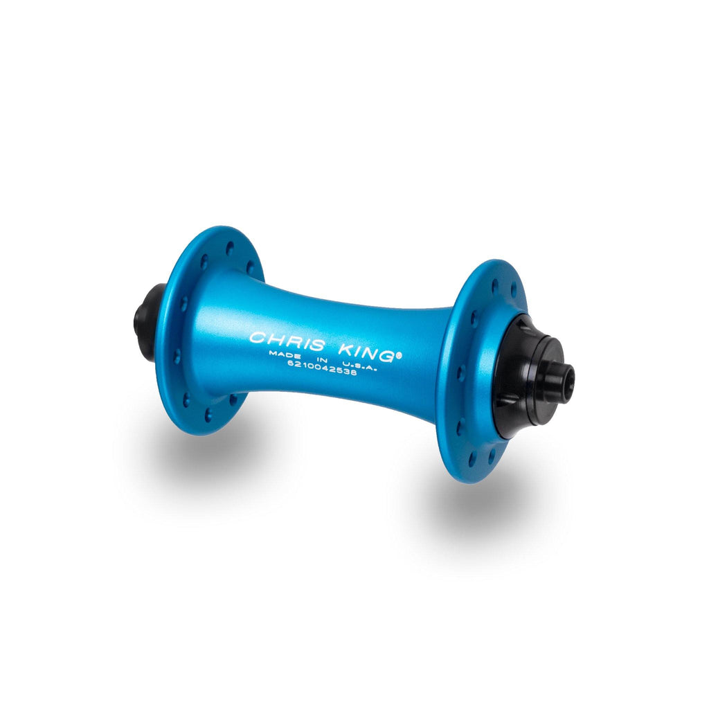 Chris King R45 Ceramic Road Hub Set - Matte Turquoise