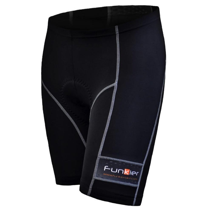 Funkier Anagni Pad B5 Woman Short - Grey Stiches