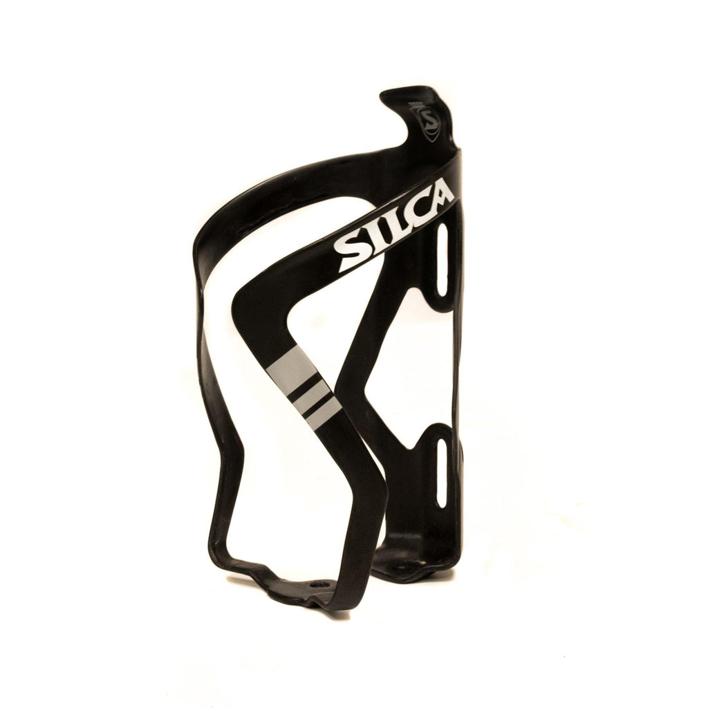 Silca Sicuro Carbon Bottle Cage - White Logo