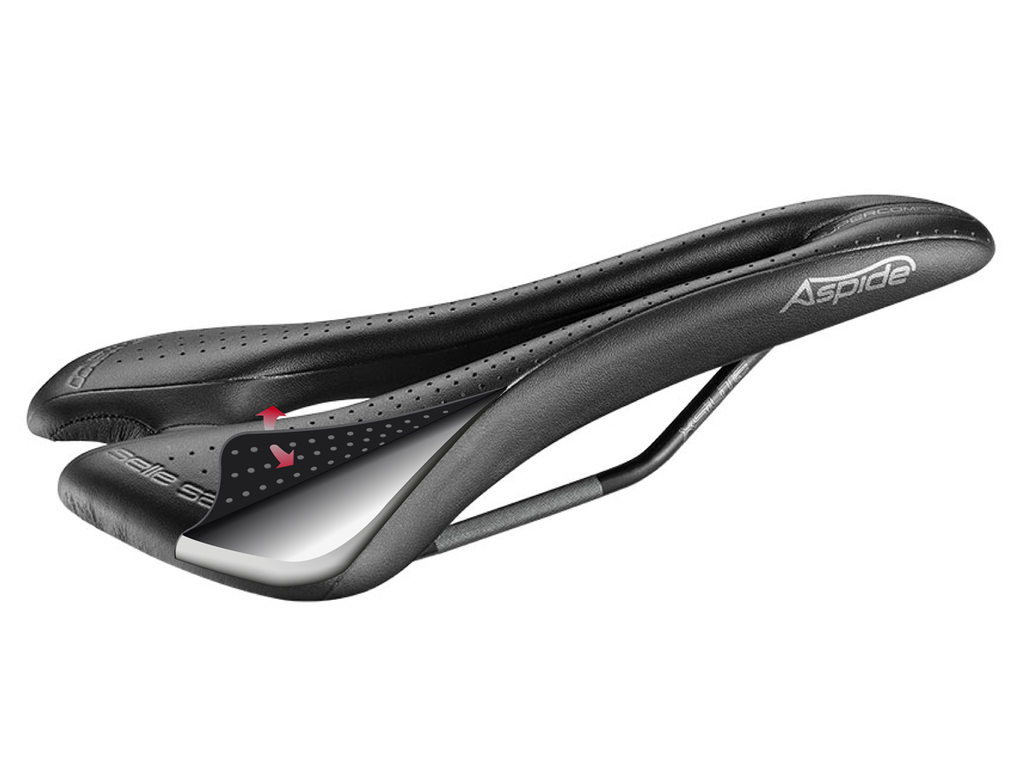 Selle San Marco Aspide Supercomfort Racing Wide Lady Saddle