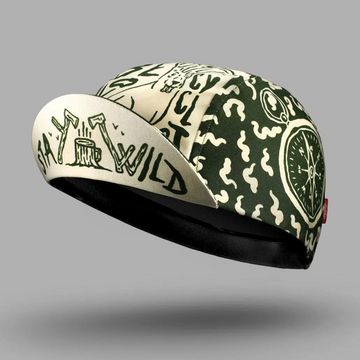 Bello Cotton Cycling Cap - Stay Wild - SpinWarriors