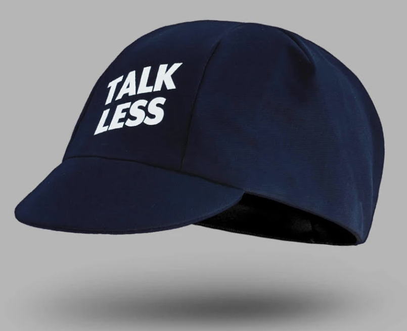 Cois Talk Less Ride More Cycling Cap