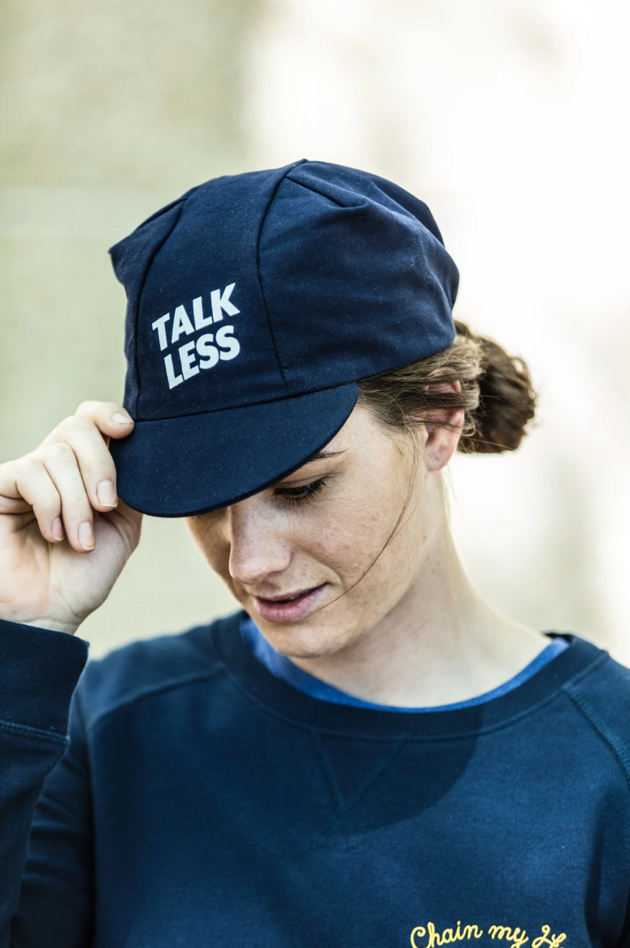 Cois Talk Less Ride More Cycling Cap - SpinWarriors