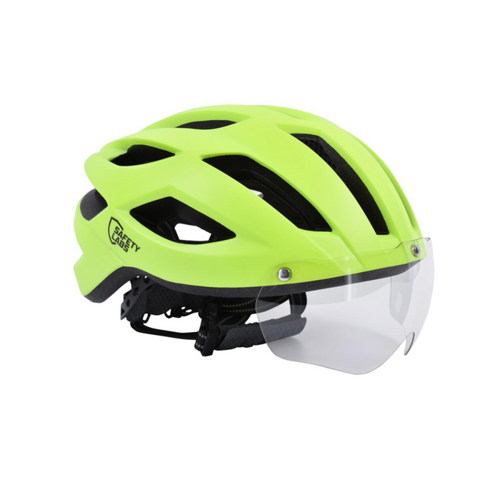 Safety Labs Expedo Helmet - Matt Neon Yellow