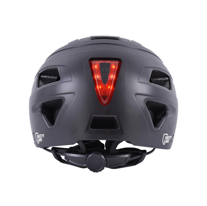 Safety Labs E-Bahn Helmet - Matt Black