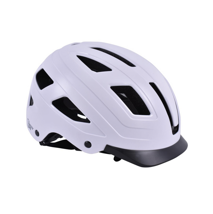Safety Labs E-Bahn Helmet - Matt White