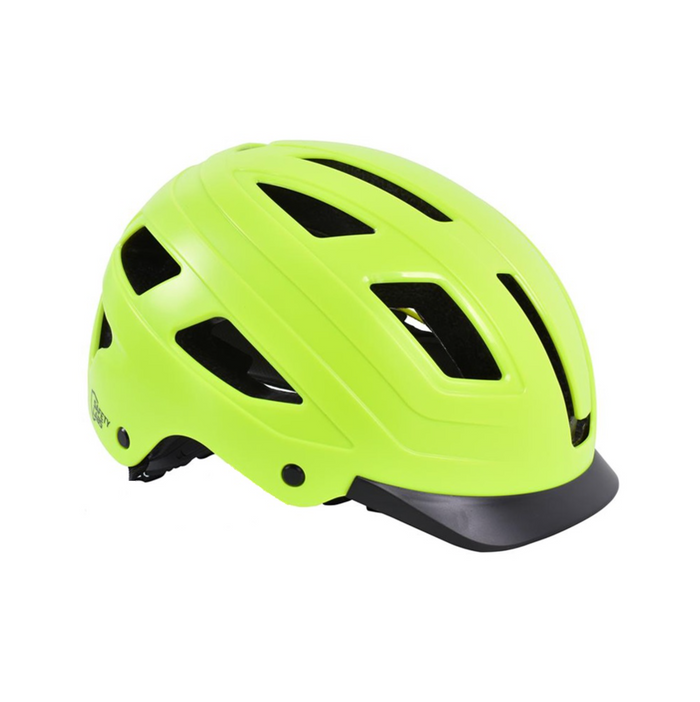 Safety Labs E-Bahn Helmet - Matt Neon Yellow