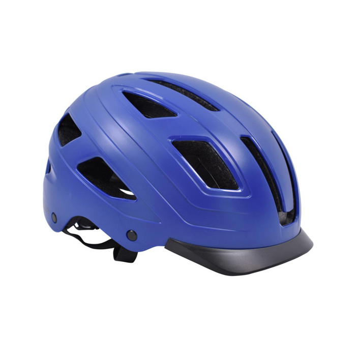 Safety Labs E-Bahn Helmet - Matt Blue